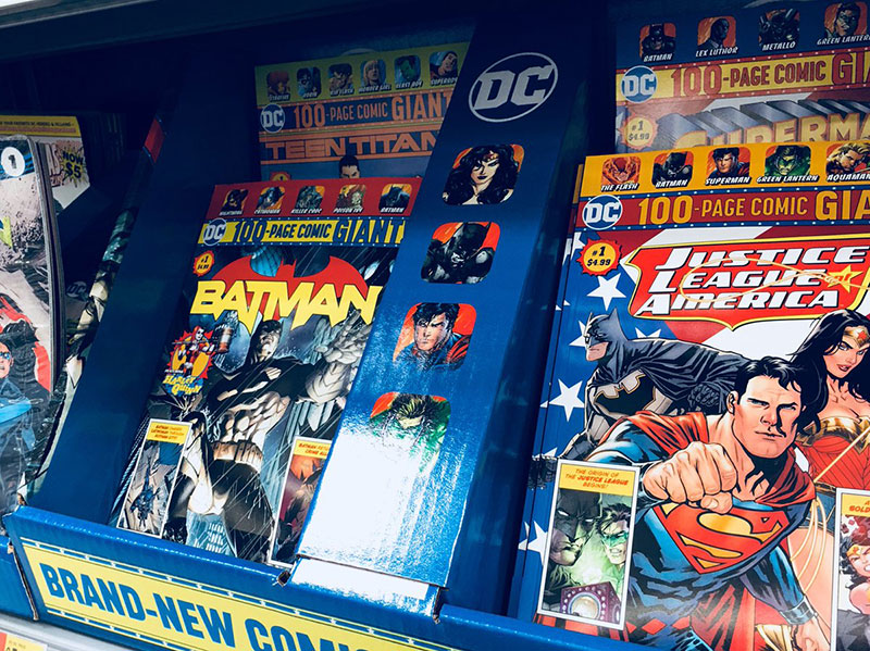 DC Comics Bringing Their Books To Wal-Mart