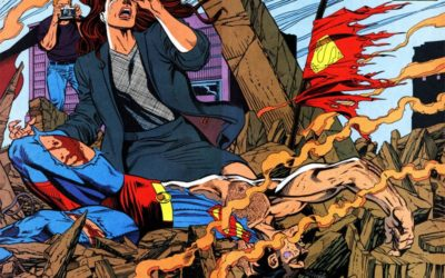 Death Of Superman Animated Features Gets Digital Comic